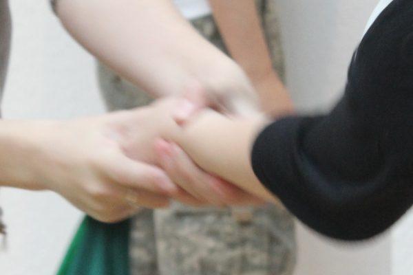 KInder hands